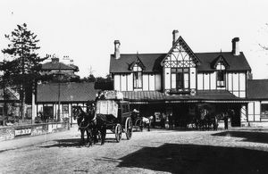 Kidderminster Station, c.1910