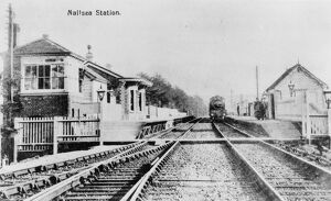 Nailsea and Backwell Station, c1910