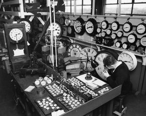 Reading Signal Works - Clock Shop, 1969