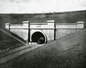 The Severn Tunnel, c1886