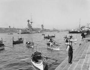 Dhaisas in Grand Harbour, Malta 1935