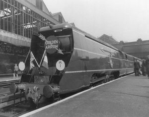 The Golden Arrow at Victoria Station