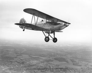Hawker Fury of the CFS