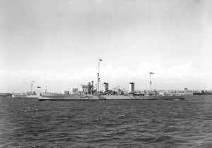 HMS Galatea, May 1937