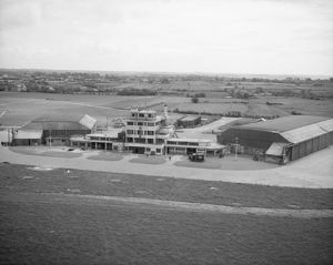 Jersey Airport, May 1945