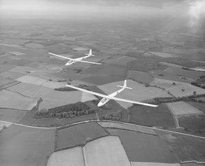 Two Slingsby T.51 Dart gliders