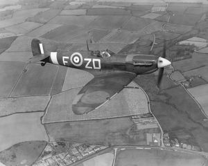 Spitfire VB of 222 Sqn