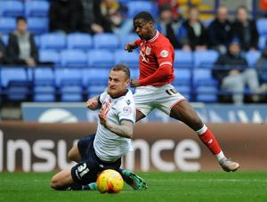 <b>Bolton Wanderers v Bristol City</b><br>Selection of 38 items