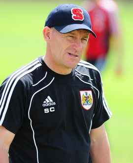 Bristol City Manager, Steve Coppell