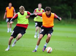 Bristol City Training 270912
