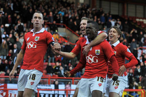 <b>Bristol City v AFC Telford</b><br>Selection of 118 items