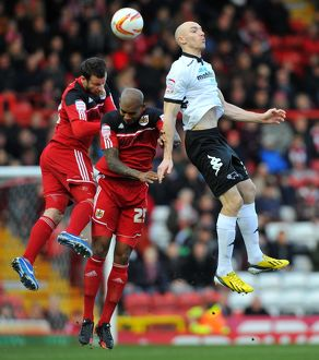 <b>Bristol City v Derby County</b><br>Selection of 50 items