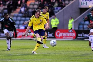 Bristol City's David Clarkson goes close with a shot