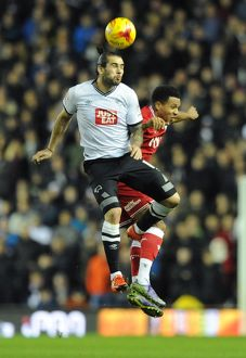 <b>Derby County v Bristol City</b><br>Selection of 25 items