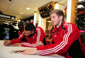 Player signing appearance