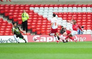 Robert Earnshaw scores for Forest