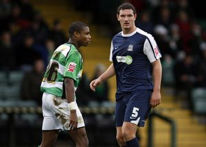 Coca-Cola League One - Yeovil Town vs. Southend United