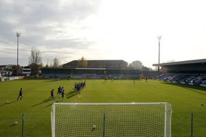 FA Cup First Round - Macclesfield Town vs. Southend United