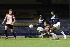 FA Youth Cup Second Round - Southend United U18's vs. Brentford U18's - 15/11/11