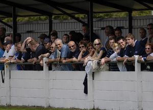 Fans at Witham Town