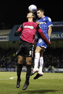 npower League Two - Gillingham vs. Southend United - 13/02/12