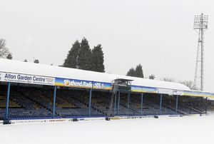Roots Hall in Snow - 02/12/11