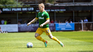 Bamber Bridge v PNE, Daryl Horgan, Green Kit (1)