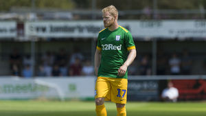 Bamber Bridge v PNE, Daryl Horgan, Green Kit (7)