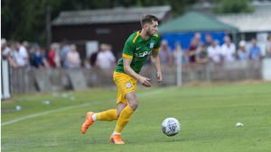 Bamber Bridge v PNE, Tom Barkhuizen, Green kit (3)