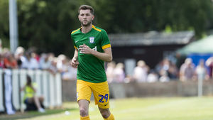 Bamber Bridge v PNE, Tom Barkhuizen, Green kit (6)