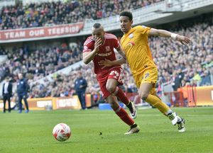 Middlesbrough v PNE, Saturday 9th April 2016, SkyBet Championship