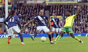 Norwich City v PNE, Saturday 22nd October 2016