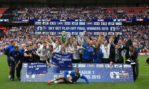 PNE Lift The Sky Bet League One Play Off Trophy 24/05/2015