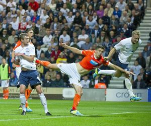 PNE v Blackpool, 5th August 2013