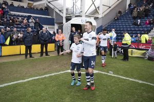 Preston North End v Brighton and Hove Albion SkyBet Championship match at Deepdale