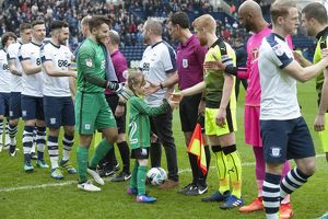 Preston North End v Reading SkyBet Championship match at Deepdale