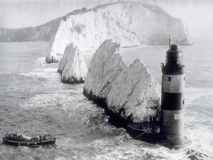 "The Needles Lighthouse unidentified 46' Watson (motor) or 52"" B The Needles Lighthouse unidentified 46' Watson (motor) or 52"" B"