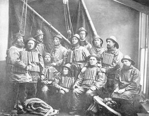 Ramsgate crew 1881 taken following the rescue of 'Indian Chief'