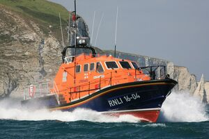 Trials of the Tamar class lifeboat Spirit of Padstow