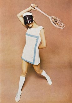 1960s tennis fashion