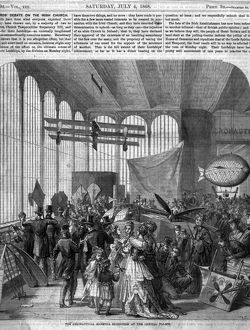 1st Aeronautical Exhibition - Crystal Palace 1868