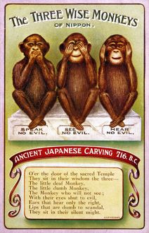 <b>3 Wise Monkeys</b><br>Selection of 5 items