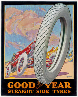 ADVERT/GOODYEAR TYRES