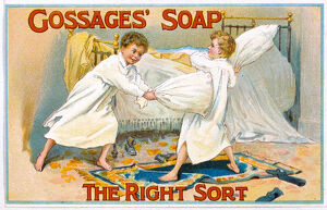 ADVERT/GOSSAGE SOAP 1900