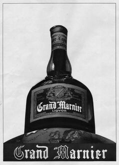 Advert for Grand Marnier liquer, 1938, Paris