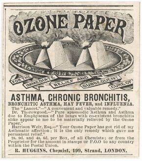 ADVERTISING/OZONE PAPER
