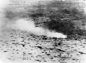 Aerial view of Battle of Somme