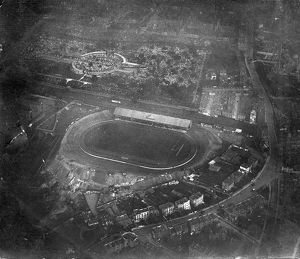 Aerial view North of Fulham Road near Stamford Bridge