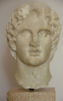 Alexander the Great (356-323 BC). King of Macedon