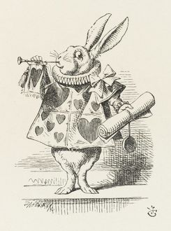 ALICE/RABBIT AS HERALD